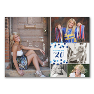 Confetti Grad - Graduation Announcement